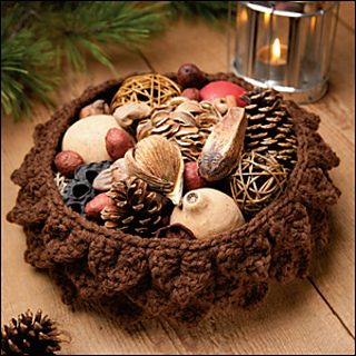 Ravelry Pinecone Basket Pattern By Debra Arch