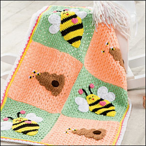 Ravelry Bumblebee Blanket Pattern By Terry Day