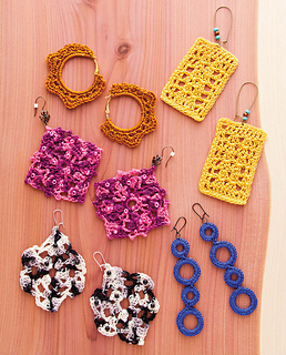 Ravelry Crochet Earrings Pattern By Jessica Ellison