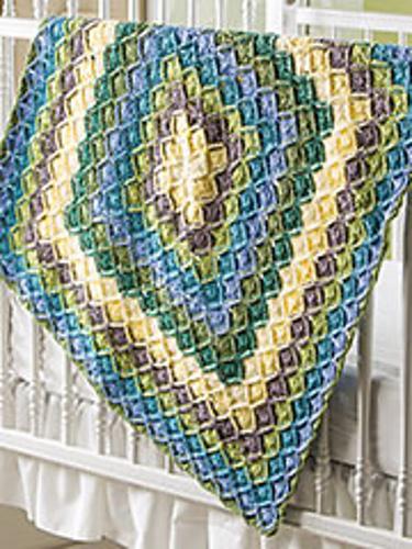 Ravelry Bavarian Baby Blanket Pattern By Jenny King