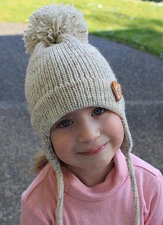 Ravelry Child S Earflap Hat On The Midgauge Pattern By