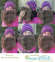 c7c06ff99c4 Ravelry  Duck Dynasty Beard and Hat Pattern pattern by Me ...