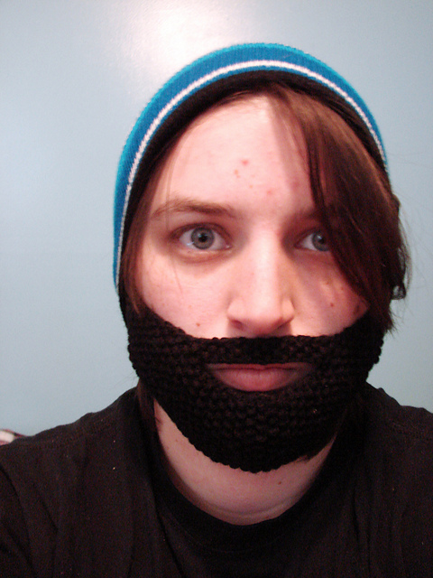 Ravelry Moss Stitch Beard Pattern By Sam