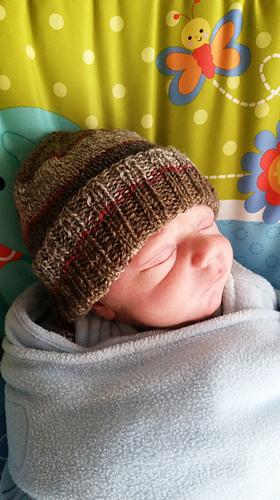 Ravelry  Super Stretchy Baby Hat pattern by Julie Tarsha 26f58e605c5