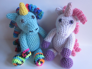 Free Amigurumi Lion Pattern : Ravelry annabelle the unicorn pattern by melissa s crochet patterns