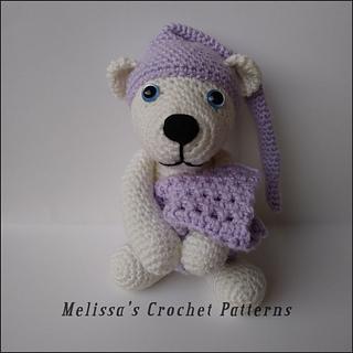 Ravelry Sleepy Polar Bear Pattern By Melissa S Crochet Patterns