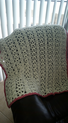Ravelry: One Skein Throw/Lacy Lap Throw pattern by Mary Jane Protus
