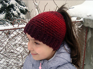 3e1aa38e888be Ravelry  Easy bun or ponytail hat pattern by Perfect Crochet For You