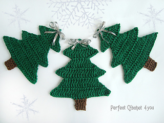 Ravelry Christmas Tree Pattern By Perfect Crochet For You