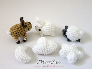 Advanced Amigurumi Shapes : Ravelry: Amigurumi Mobile Shapes pattern by Mevlinn Gusick