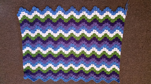 Ravelry Vintage Rippling Blocks Pattern By Angela Maria