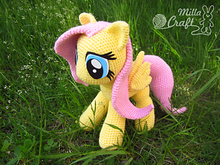 Amigurumi Pattern My Little Pony : Ravelry: Fluttershy from My Little Pony pattern by Milla Craft