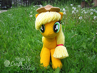 Ravelry Applejack From My Little Pony Pattern By Milla Craft