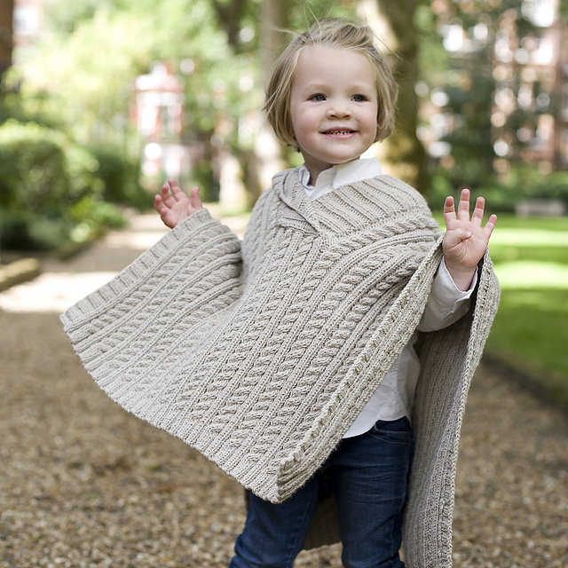 Ravelry: Alex Poncho pattern by MillaMia Sweden