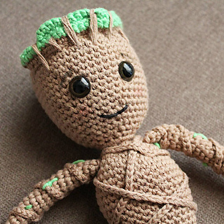 a1c7eca2e Baby Groot - Soft Toys pattern by Anabel Catalan