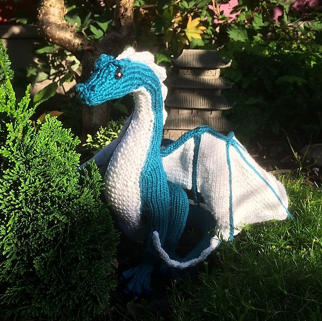 Ravelry Knitted Dragon Pattern By Kim Harrison