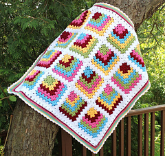 Ravelry Modern Mitered Granny Square Pattern By Sue Rivers