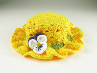 Carrie-wolf-modern-needlepoint-crochet-pansy-easter-bonnet-hat-toddler-5601_small2
