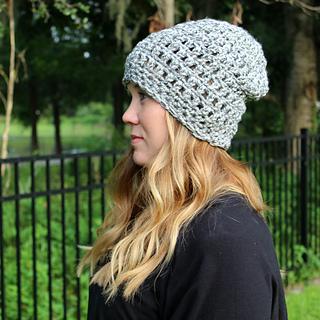 88b15dc4982 Ravelry  Easy Peasy Chunky Slouch Hat pattern by Michelle Ferguson