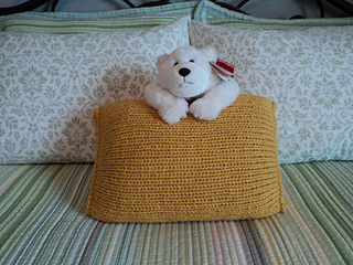 Ravelry Knit In The Round Pillow Pattern By Monique Rae