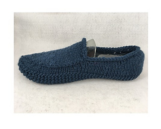1fd3ebb1e2eca Mens Knit Loafer Slipper pattern by Monique Rae