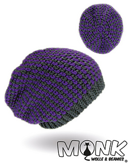 ravelry moss stitch beanie no 4 pattern by monk wolle beanies. Black Bedroom Furniture Sets. Home Design Ideas