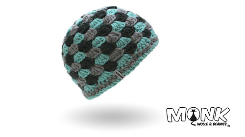 Ravelry Beanie Im Muschelmuster Pattern By Monk Wolle Beanies