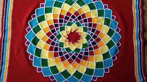 Ravelry Sunny Daze Tunisian Entrelac Pattern By Laura Pavy