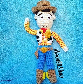 Ravelry: Toy Story Woody pattern by MoonlitShop Patterns