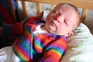 62e4a389bd0d Ravelry  Seamless Baby Kimono pattern by Jacki Kelly