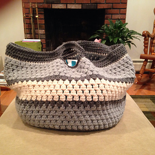 Ravelry Cluster Stitch Bag Tutorial Pattern By Bobwilson123
