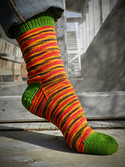 Red Rock Socks    PDF