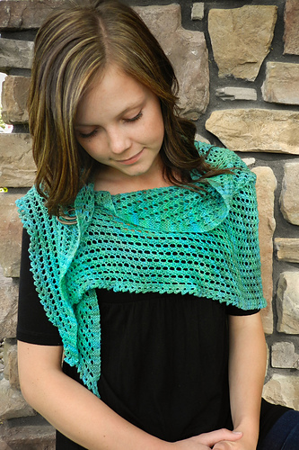 Red River Mini Shawl PDF