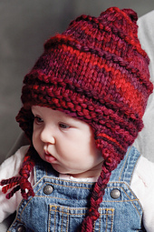 Child's Ski Hat and Thumbless Mittens PDF