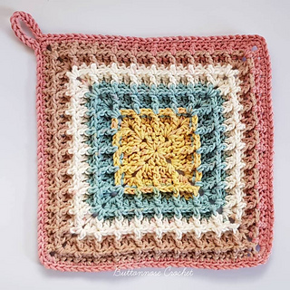 Ravelry Squared Waffle Pattern By Buttonnose Crochet