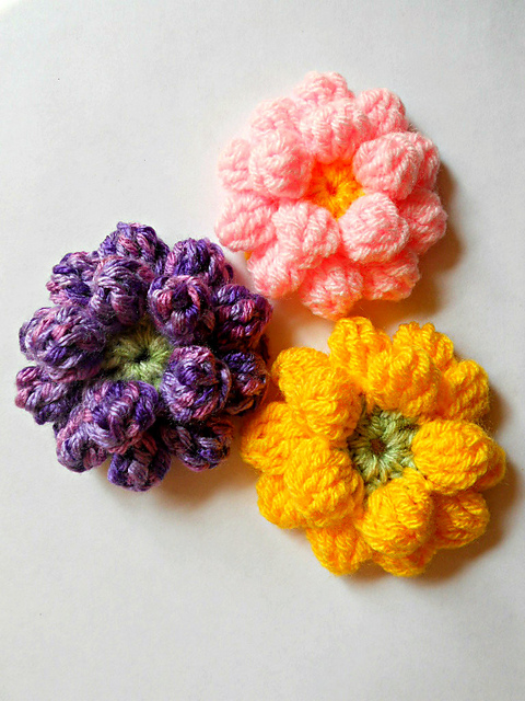 Ravelry: Bundles: Crochet Flowers Free Patterns by Kinga Erdem