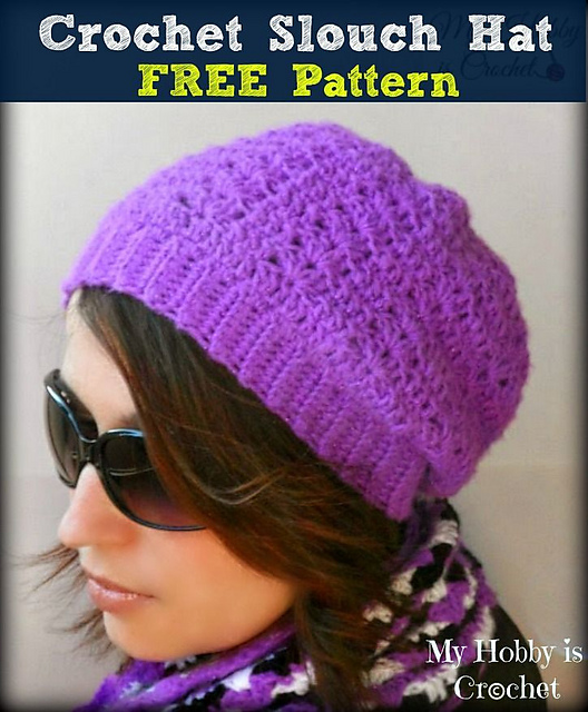 Ravelry Hypnotic Heart Slouch Hat Pattern By Kinga Erdem
