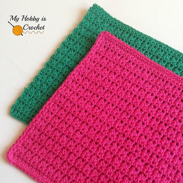 Ravelry Easy Dishcloth Pattern By Kinga Erdem