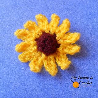 Ravelry bundles crochet flowers free patterns by kinga erdem small coneflower rudbeckia dt1010fo