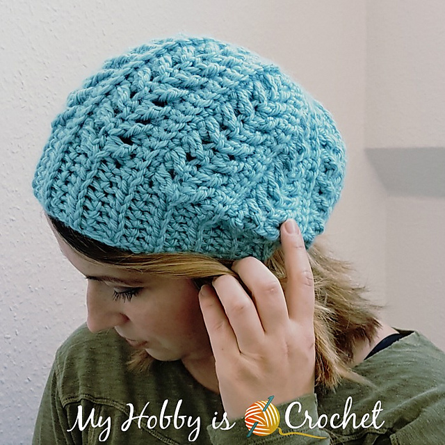 Ravelry: Go with the Flow Hat pattern by Kinga Erdem