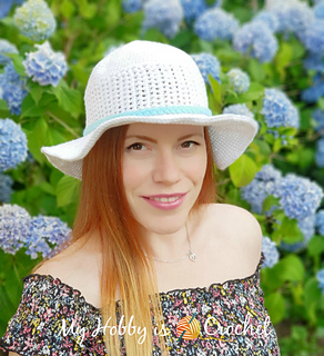 6e51a7b5fda Ravelry  Ciuci Sun Hat pattern by Kinga Erdem