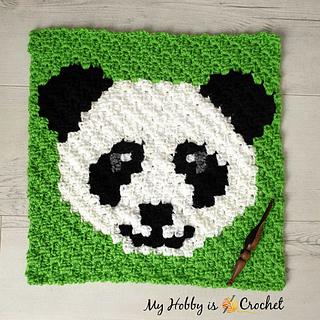 Ravelry: Panda Lee C2C Square pattern by Kinga Erdem