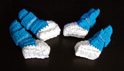 Ravelry Small Dog Booties Shoes Pattern By Myntkat