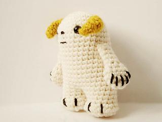 Amigurumi Star Wars : Ravelry star wars wampa amigurumi pattern by ana yogui