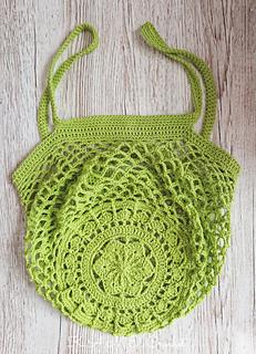 Ravelry: Sakura Market Bag pattern by K.A.M.E. Crochet by Krisztina Anna Matejcsok-Edomer