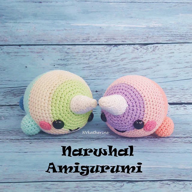 Ravelry Narwhal Amigurumi Pattern By Vi Le