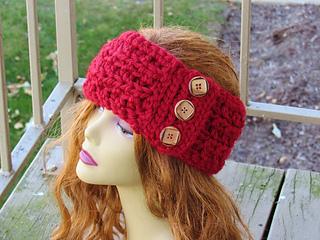 Ravelry Angelina Chunky Ear Warmer Headband Pattern By Crochetdreamz