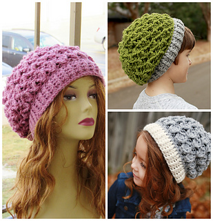b73d971e486 Ravelry  Blair Slouch Hat pattern by CrochetDreamz