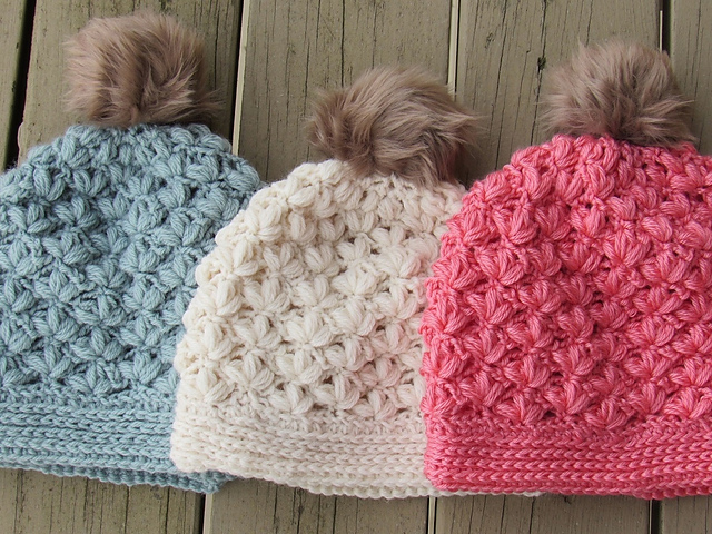 Ravelry Winter Blossom Beanie Or Slouch Pattern By Crochetdreamz