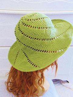 768dc20f32e Ravelry  Sunsational Sun Hat pattern by CrochetDreamz